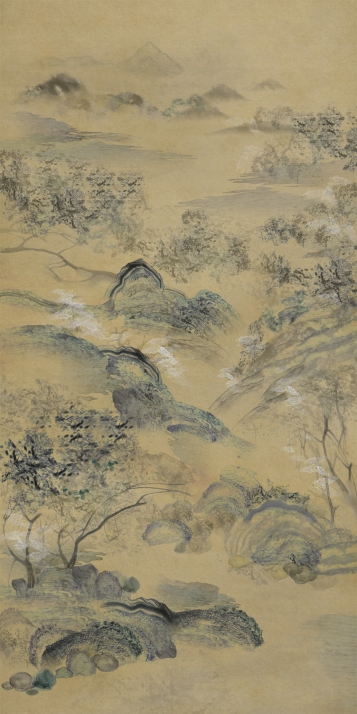 Chang Jia, Heavenly Corrupted Landscapes, 2018